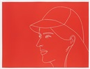 Alex Katz, Kym with Baseball Cap