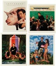 Jeff Koons, Art Magazine Ads portfolio (set of 4)