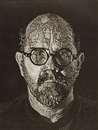Chuck Close, Self-Portrait I (Dots)