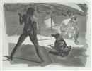 Eric Fischl, Beach; Shower (set of 2)