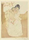 Mary Cassatt, Maternal Caress, Maternal Caress