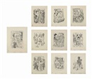 Max Beckmann, Berliner Reise (portfolio of 10), Berliner Reise (portfolio of 10)