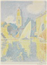 Paul Signac, Saint-Tropez: Le Port
