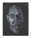 Chuck Close, Self Portrait/Pulp/Pochoir