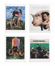 Jeff Koons, Art Magazine Ads (Art, Flash Art, Art in America, and Artforum) (set of 4)