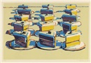Wayne Thiebaud, Boston Cremes (from Seven Still Lifes and a Silver Landscape)