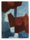 Serge Poliakoff, Composition bleue et brune