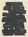 Pierre Soulages, Eau forte No 11, Eau forte No 13 (2 works)