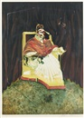 Francis Bacon, Étude pour un portrait du Pape Innocent X (study after Vélasquez)