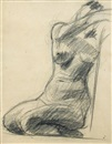Christopher Wood, Reclining Nude