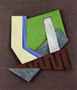 Frank Stella, Kozangrodek (II) (from the paper relief project)