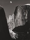 Ansel Adams, Yosemite Falls and Moon and Half Dome (2 works)