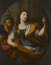 Follower Of Sebastiano Conca, An allegory of Justice and An allegory of Fortitude (pair)
