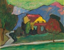 Gabriele Münter, Das Gelbe Haus (The Yellow House)