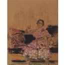 Edouard Vuillard, Woman Seated on a Chaise