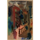 George Grosz, Untitled, City Scene
