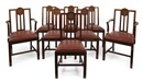 Sir Frank Brangwyn, Dining chairs (set of 8)
