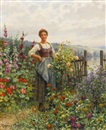 Daniel Ridgway Knight, Tending the Flowers