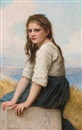 William Adolphe Bouguereau, Au Bord de la Mer