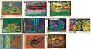 Friedensreich Hundertwasser, Look at it on a Rainy Day (Complete Edition with Case) (10 works)
