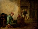 David Teniers the Younger, Interior con personajes