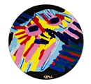Karel Appel, Ceramic Plate I