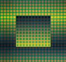Victor Vasarely, Zett I, Green/Yellow