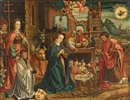 German School-Cologne (16), The adoration of the child