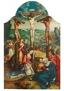 Circle Of Jan van Scorel, The Crucifixion of Christ
