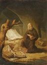 Jacob van Spreeuwen, Saint Jerome in prayer