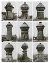 Bernd and Hilla Becher, Watertowers J (set of 9)