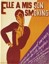 René Magritte, Elle a mis son smoking (sheet music cover)