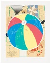 Donald Baechler, Beachball, ur: Some of my subjects