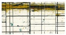 Brice Marden, Masking Drawing 2 (Yellow and Purple)