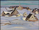 Alexander Young Jackson, A Quebec Village (Winter, Saint-Fidèle)