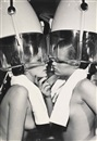 Helmut Newton, Patti Hansen & Winnie Hollman for Xavier Coiffures, New York