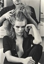 Helmut Newton, Patti Hansen for Xavier Coiffures, New York
