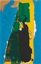 Robert Motherwell, St. Michel Collage with Blue