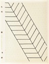 Carl Andre, Drawing for Fall