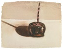 Wayne Thiebaud, Candy Apple