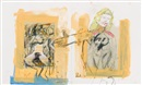 Richard Prince, Untitled (with de Kooning) (in 2 parts)