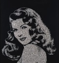Vik Muniz, Rita Hayworth (from Pictures of Diamonds)