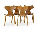 Arne Jacobsen, Grand Prix stolar (set of 4)