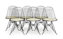 Charles and Ray Eames, Wire stolar (set of 6)
