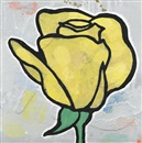 Donald Baechler, Yellow Rose