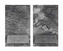 Sophie Calle, Untitled (The Graves) (diptych)
