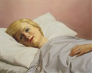 John Currin, Girl in Bed, Girl in Bed