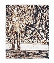 Vik Muniz, Action painter (from the Chocolate series)