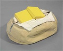 Claes Oldenburg, Soft Baked Potato, Open and Thrown--Scale B