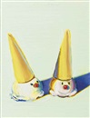 Wayne Thiebaud, Two Jolly Cones